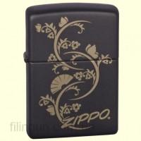 Зажигалка Zippo 218.907 Floral Fan