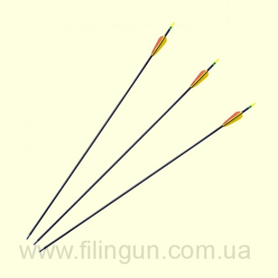 """Стріла фиброглас для лука Poe Lang 28"""" PL/D-055"""