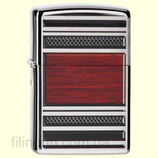 Запальничка Zippo 28676 Steel & Wood Design Pipe Lighter