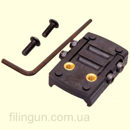 Крепление для коллиматорного прицела Shield под Weaver/Picatinny