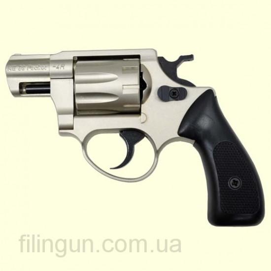 Револьвер под патрон Флобера ME 38 Pocket 4R (никель, пластик)