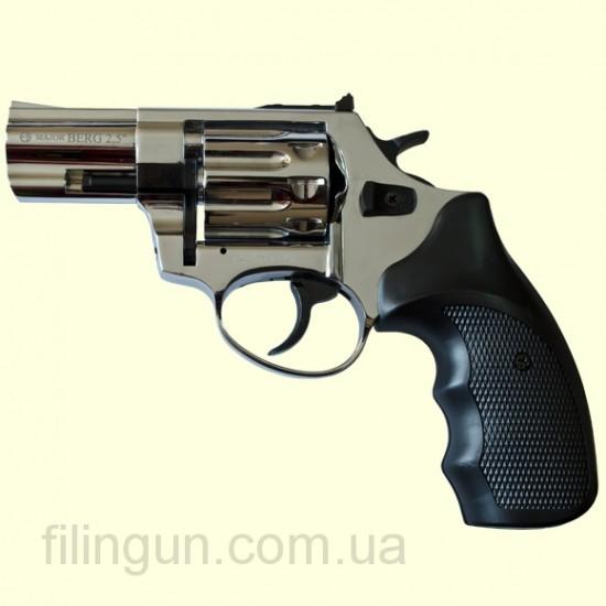 """Револьвер под патрон Флобера Ekol Major Berg 2,5"""" никель"""