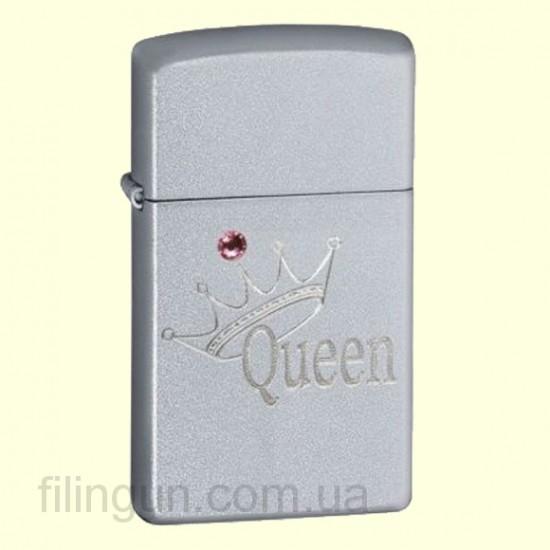 Зажигалка Zippo 420.061 Slim Queen & Crown