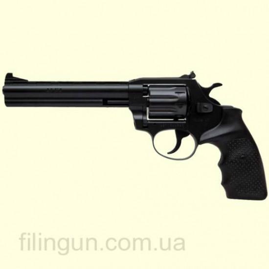 Револьвер під патрон Флобера Alfa мод 461 4 мм ворон/пластик