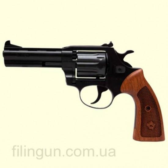 Револьвер під патрон Флобера Alfa мод 441 Classic (вороніння, дерево)