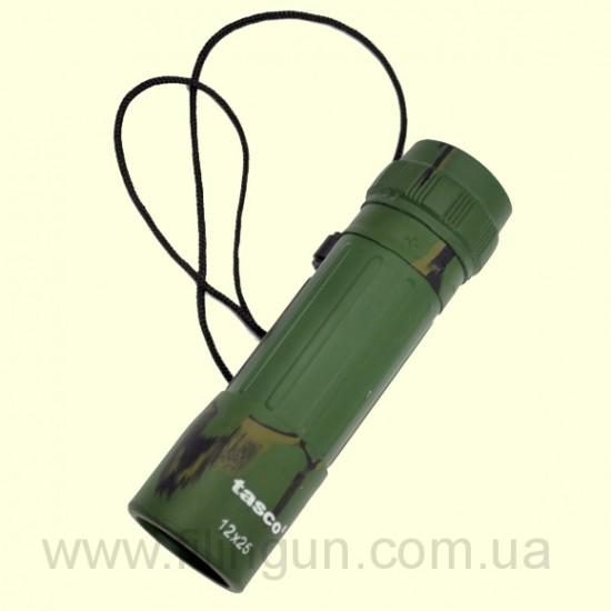 Монокуляр Tasco 12x25 зелений - фото