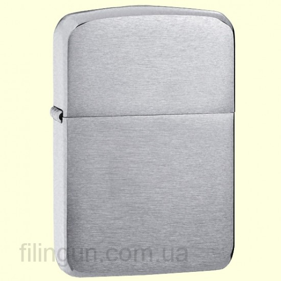 Зажигалка Zippo 1941 Replica Brushed Chrome - фото