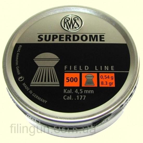 Кулі для пневматичної зброї RWS Superdome