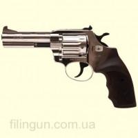 Револьвер под патрон Флобера Alfa мод 441 4 мм никель/пластик