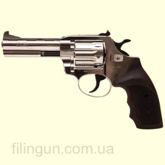 Револьвер під патрон Флобера Alfa мод 441 4 мм нікель/пластик