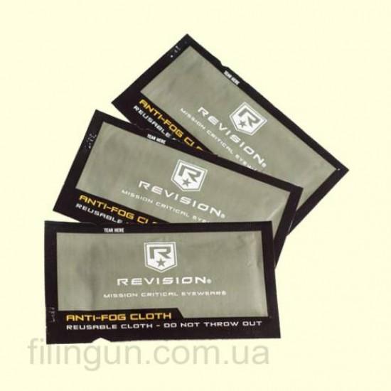 Серветка для очищення лінз Revision Anti-Fog Cloths 4-0330-9004