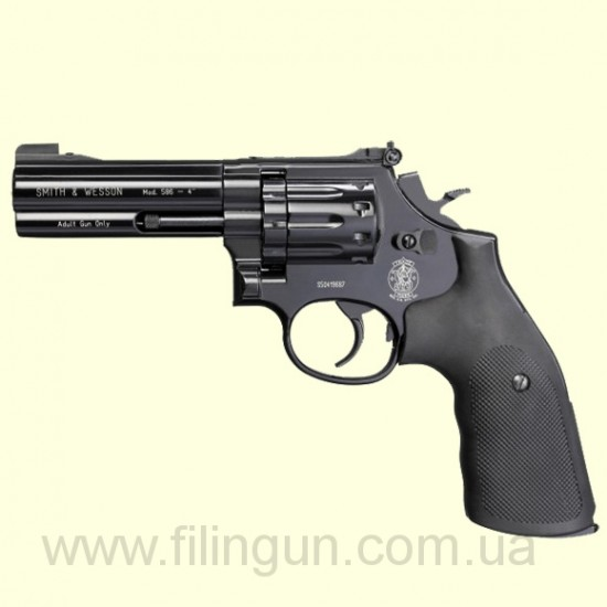 Пневматический револьвер Smith & Wesson 586 4""