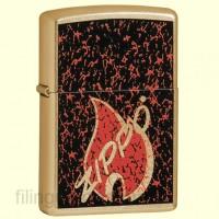Зажигалка Zippo 24193 Retro Flame