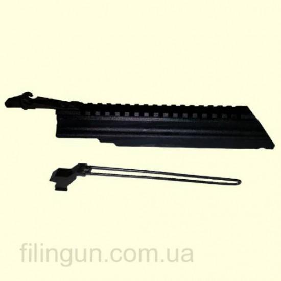 Кришка ствольної коробки МЕ з планкою Weaver/Picatinny на базі АКМ/АК-74